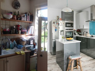 [改造企劃] Rework:拯救不良狹窄廚房!