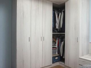 [開箱報告] 女孩公寓小宅設計 臥室系統櫃