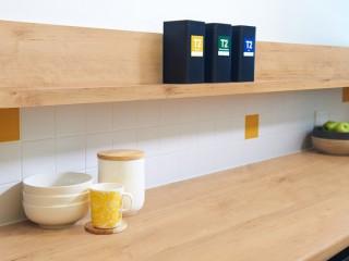 暖意舒爽、自然耐看的木質櫃架