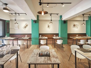 輕工業復古風情 精緻義式餐廳