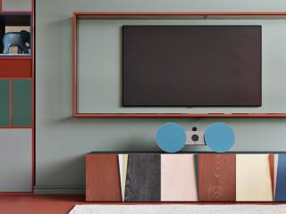 濃郁色彩文藝風 莫斯科RGB公寓