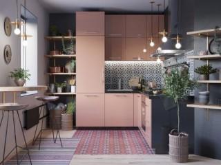 45個漂亮時髦 L字型廚房設計