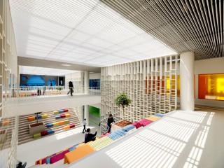 世界學院 色彩共感繽紛活力校園設計