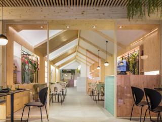 清新日系北歐風設計 地中海和食料理餐廳