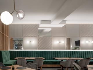 精緻優雅現代北歐風 立陶宛西式餐廳設計