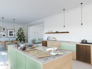 變身小清新文青質感 北歐風格廚房設計