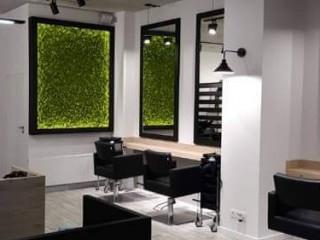 工業風結合自然系裝設 波蘭簡約現代格調髮廊