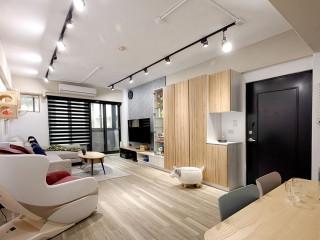 老屋改造日系無印風  現在式單身宅&未來式新婚宅