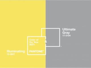 Pantone 2021年度代表色:極致灰 X 亮麗黃