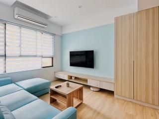 減去多餘X簡約裝修 現代溫馨木質小坪宅
