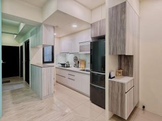 溫馨沁心色彩空間 實用系設計小公寓